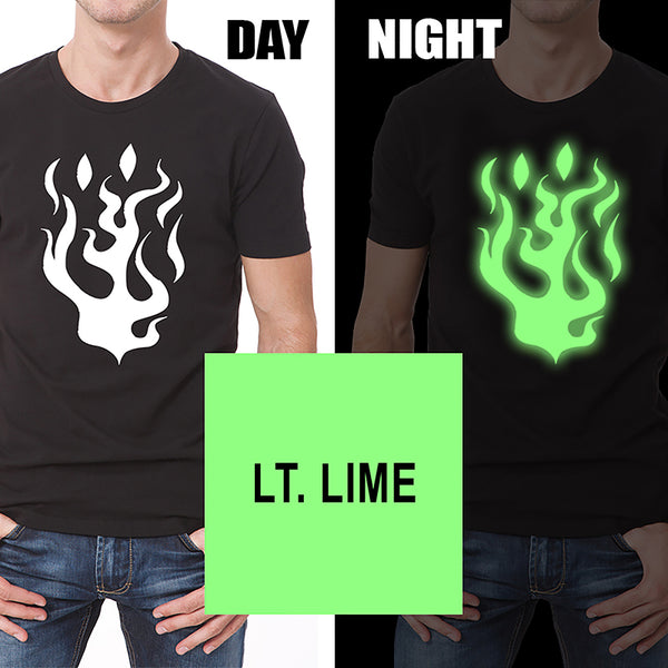 HT-Glow In The Dark Heat Transfer