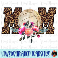 Volleyball Mom Heat Transfer Vinyl