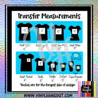 Autism Hearts Heat Transfer Vinyl Ready To Press
