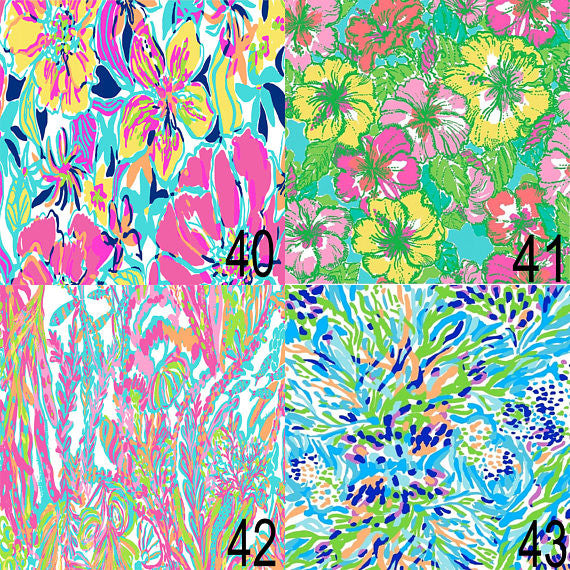 Lilly Inspired 40-43 Pattern Vinyl