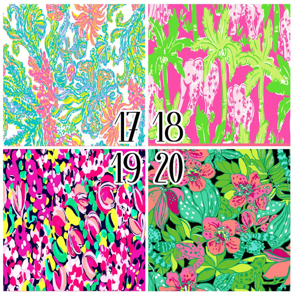 Lilly Inspired 17-20 Pattern Vinyl