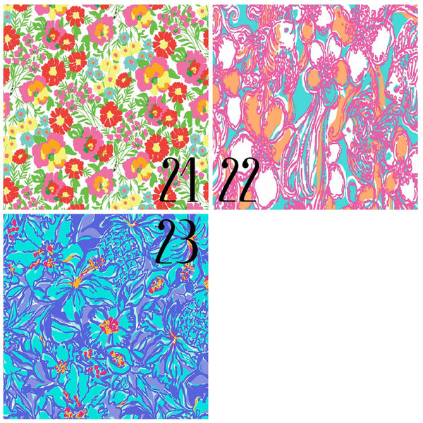 Lilly Inspired 21-23 Pattern Vinyl