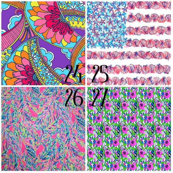 Lilly Inspired 24-27 Pattern Vinyl