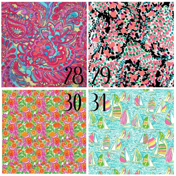 Lilly Inspired 28-31 Pattern Vinyl