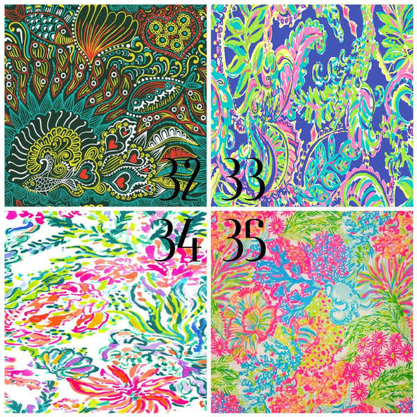 Lilly Inspired 32-35 Pattern Vinyl