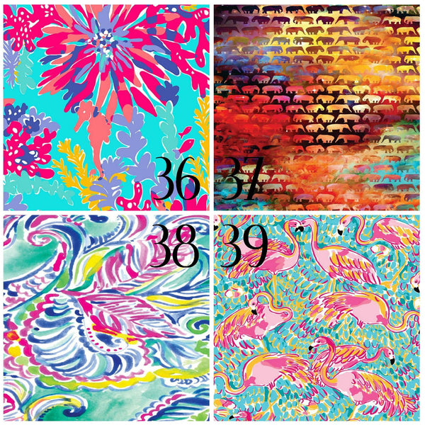 Lilly Inspired 36-39 Pattern Vinyl