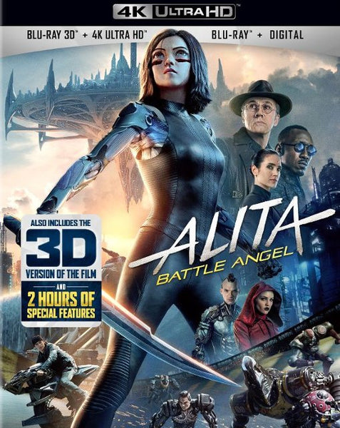 Alita Battle Angel (4K UHD) Movies Anywhere (MA)