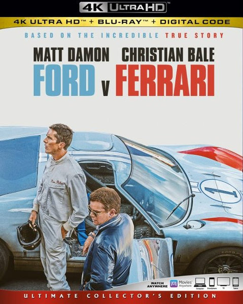 Ford v Ferrari (4K UHD) Movies Anywhere (MA) or Vudu