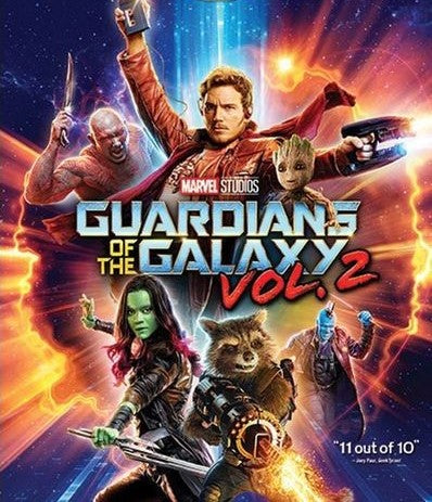 Guardians Of The Galaxy Vol. 2 [Movies Anywhere HD [(MA)]