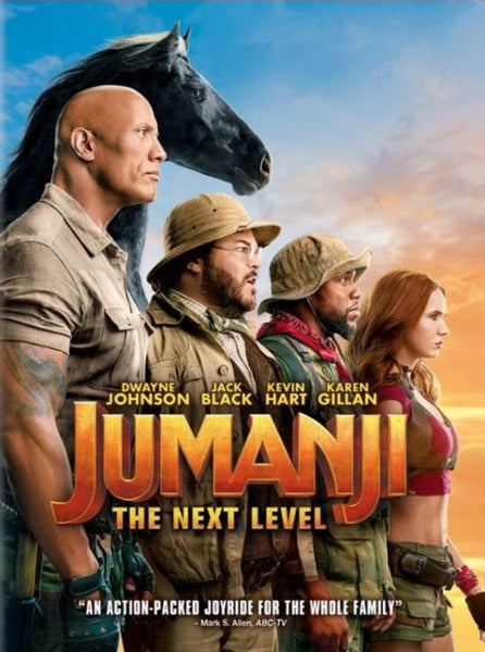 Jumanji The Next Level (Ultraviolet HD) VUDU or Movies Anywhere (MA)