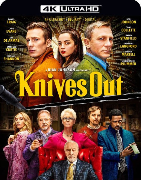 Knives Out (4K UHD) Vudu