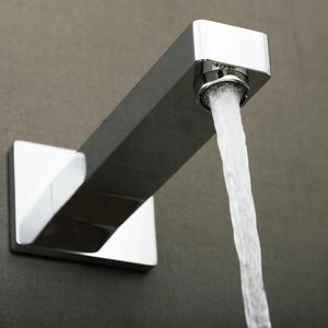 DAX-Z11 / DAX HOT TUB SPOUT, WALL MOUNT, BRASS BODY, CHROME FINISH, 3-9/16 X 2-3/4 X 7-3/16 INCHES