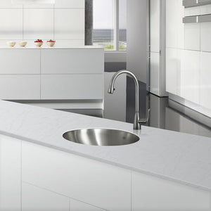 DAX-1916 / DAX SINGLE BOWL UNDERMOUNT KITCHEN SINK, 18 GAUGE STAINLESS STEEL, BRUSHED FINISH
