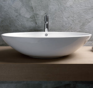 VESSEL SINKS /  Oval Ceramic