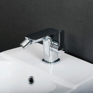 DAX-8583-CR / DAX SINGLE HANDLE BIDET FAUCET, BRASS BODY, CHROME FINISH, 4-7/16 X 4-1/4 INCHES