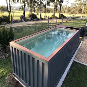 CONTAINER GLASS POOLS 20'/40'