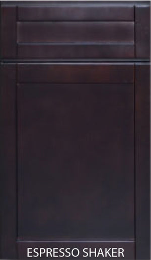 Wall (Frosted) Glass Cabinet Door 24W x 36H