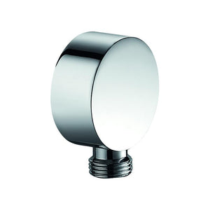 DAX-2085B / DAX SHOWER OUTLET ELBOW, WALL MOUNT, BRASS BODY, CHROME FINISH, 2-1/8 X 2-1/8 X 15/16 INCHES