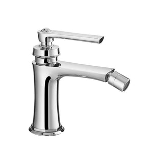 DAX-8509-CR / DAX SINGLE HANDLE BIDET FAUCET, BRASS BODY, CHROME FINISH, 3-9/16 INCHES