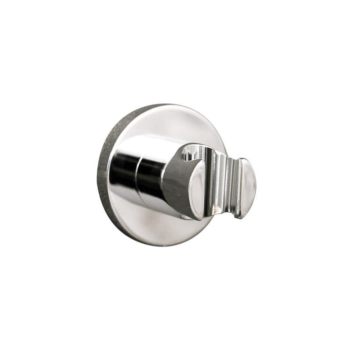 DAX-8873 / DAX HAND HELD SHOWER HOLDER, ROUND LINE, WALL MOUNT , BRASS BODY, CHROME FINISH, 2-3/4 INCHES