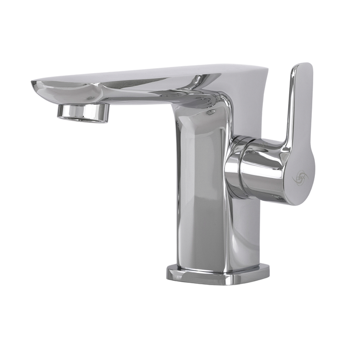 DAX-9883 / DAX SINGLE HANDLE BATHROOM FAUCET, BRASS BODY, CHROME FINISH, 4-3/4 X 3-15/16 INCHES