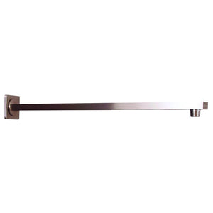 DAX-D-F20 / DAX SQUARE SHOWER ARM, BRASS BODY, WALL MOUNT, BRUSHED NICKEL OR CHROME FINISH
