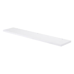 "DSRE090100 - 36"" WOOD FINISH MIRROR SHELF, WALL MOUNT, ZEN"