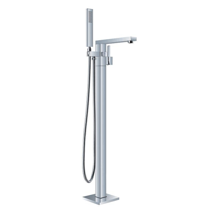 BT - TUB FAUCETS Atlas Chrome Freestanding Bathtub Faucet