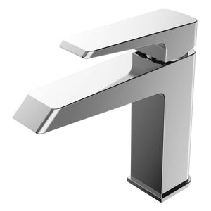 BT - BATHROOM FAUCETS Cubic Single Hole Mount Bathroom Vanity Faucet
