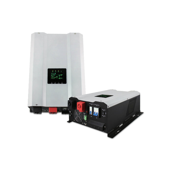 Hybrid Power Inverter Systems - GS-6KW Series / 4 Panels, 12 Batteries