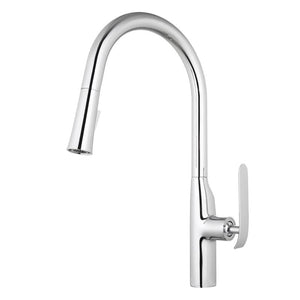 BT - KITCHEN FAUCETS Dylan Single-Handle Kitchen Sink Faucet + Pull Down Sprayer