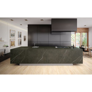 "SLAB-50560-GRNAT / APAVISA Slab Pietra Grey Natural 64""x128""x1/2"""