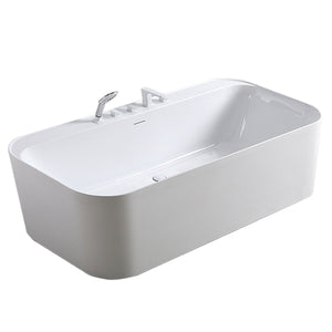 "BT TUBS - Florida 60"" Acrylic Freestanding Bathtub"