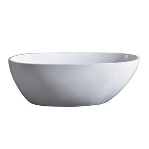 "BT TUBS - Tenna 60"" Acrylic Freestanding Bathtub"
