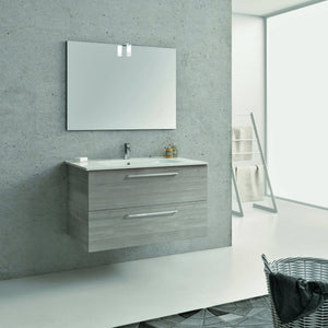 BT - VANITY / VALENCIA Wall Hung Modern Bathroom Vanity Set