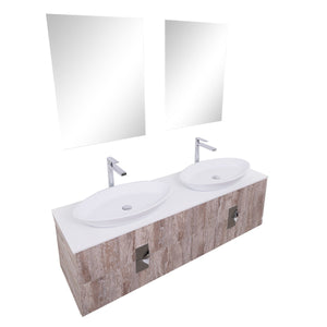 BT - VANITY / VENUS Wall Mounted Modern Bathroom Vanity Set