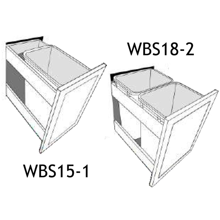 J-CABINETS / WASTE BASKET PULL OUT