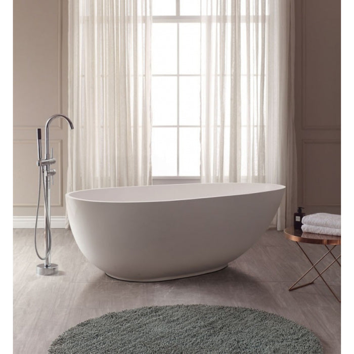 AV - FIXTURES / Gaia Acrylic Oval Bathtub