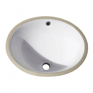 AV - FIXTURES / 18 in. Oval Undermount Sink