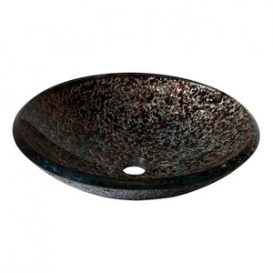 AV - FIXTURES / 18 in. Round Glass Vessel Sink