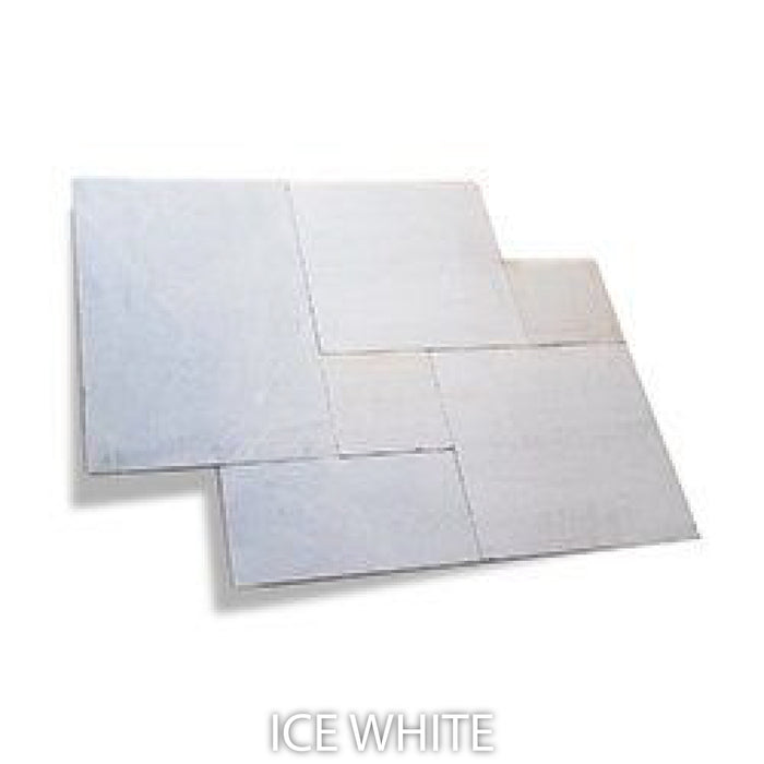 SLG / PAVERS - ICE WHITE (SAND BLASTED)