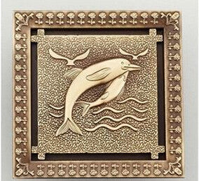 New Arrival Antique Brass 12*12cm Square Floor Drain Shower Drain Bathroom Furniture HJ-8701T