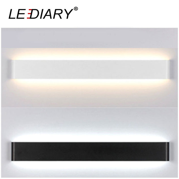 LEDIARY Dec Wall Lamp 24/41/61/72/91/111cm Long LED Mirror Lamp for Restroom/Bathroom/Bedroom/Living Room Wall Lights 85-265V AC