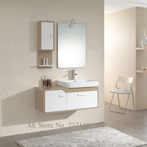 bathroom cabinet with ceramic basin white furniture wall-mounted bathroom vanities furniture buying agent wholesale price
