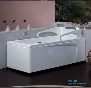 Left/Right Apron Fiber glass Acrylic whirlpool bathtub Hydromassage Tub Nozzles Spary jets spa RS6151B