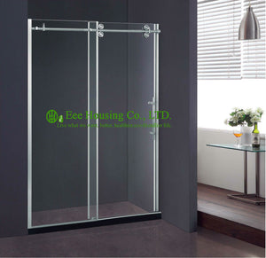 Shower Room best price Whole Shower 304 stainless steel Complete Square Cheap Shower Straight 8/10Mm Glass Door