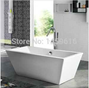 67' Sea Shipping Freestanding bathtub and Acrylic +ABS composite board Piscine Soaking Hot tub W8011