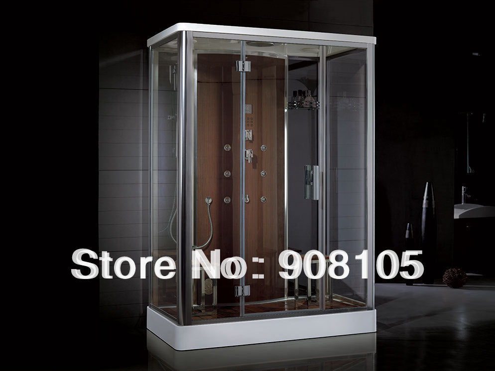 steam room  glass swing door shower enclousre show cabin with steam generator and controller
