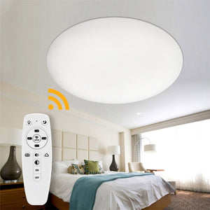 Led Ceiling Lamp Ultra-thin Round Simple Wood Modern Fixture Recessed Decoration