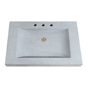 AV - FIXTURES / Stone Integrated Sink Top